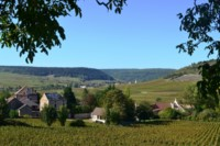cote beaune wine hiking trip france